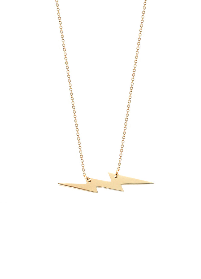 Lightning Flash Bolt Necklace