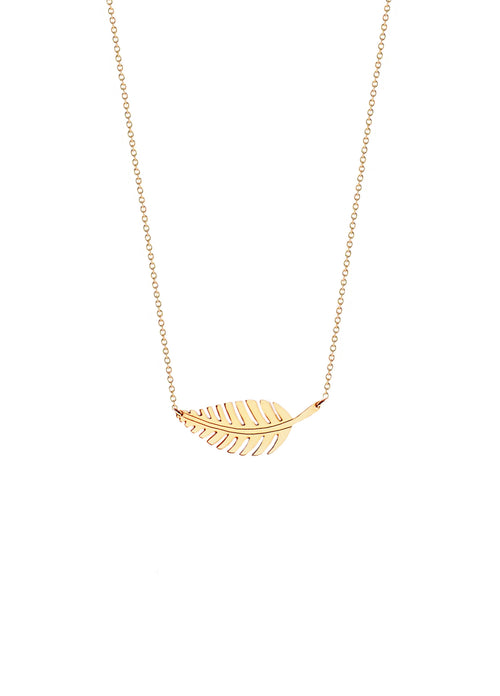 Diana Leaf Necklace
