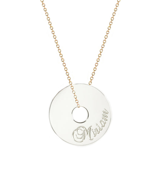 Personalized Name Token Necklace