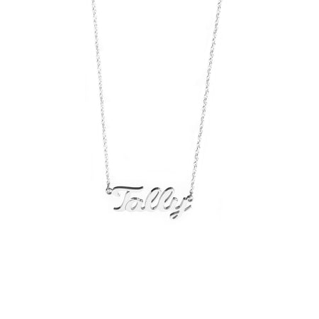 Taly Spaced Letter Necklace