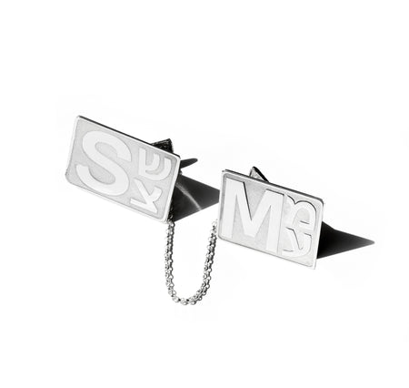 Rectangular Tag Key Chain