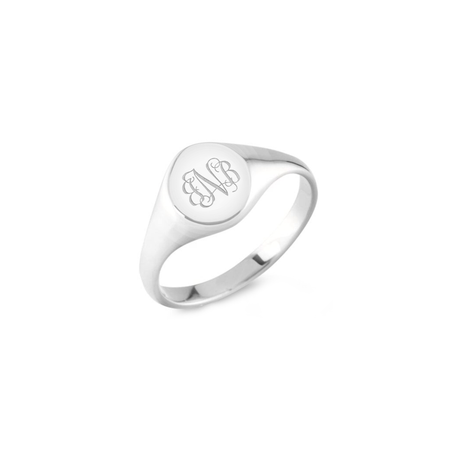 Old London Initial Ring