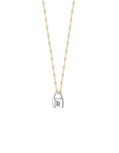 Sarah Personalized Lock and key Necklace