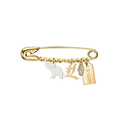 Noah Baby Safety Pin