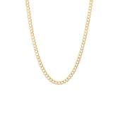 Milena Cuban Chain Necklace