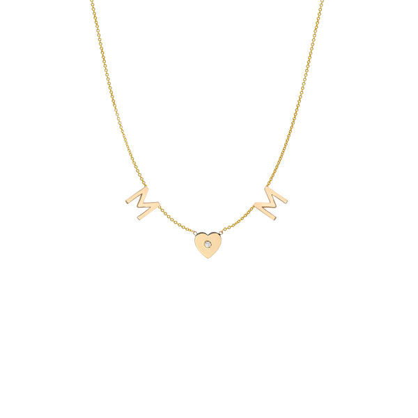 Taly Diamond Initial Necklace