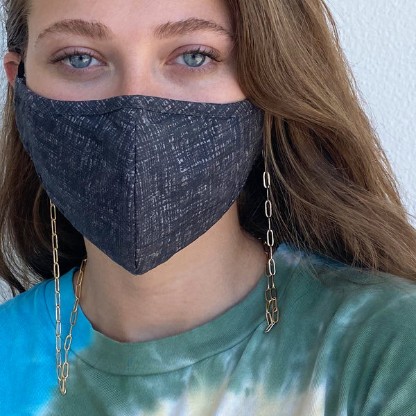 Paperclip Chain Mask Holder