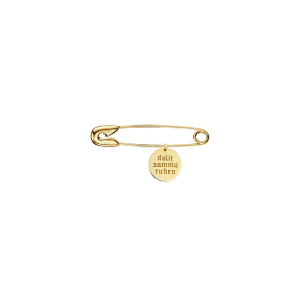 Personalized Name Disc Charm