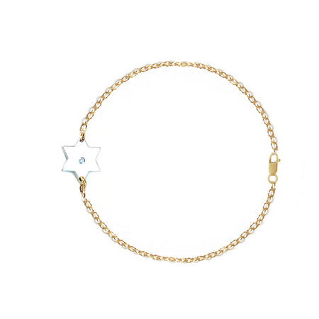 Star of David Love Necklace
