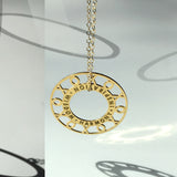 XOXO Personalized Token Necklace