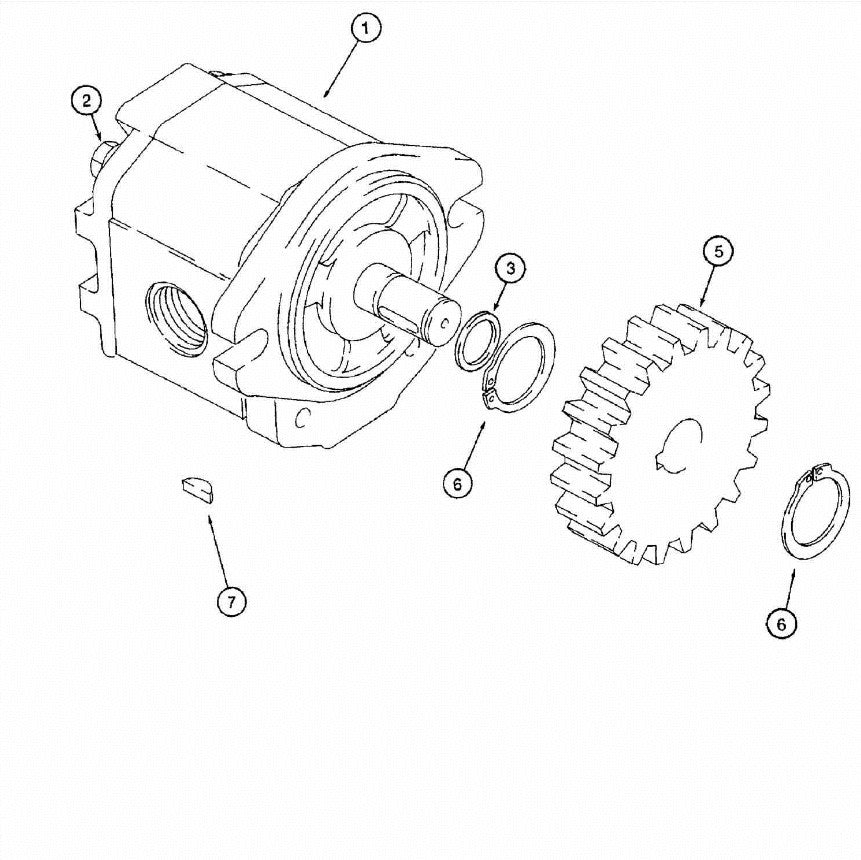 Astec and Case Maxi Sneaker C, D and E P40 Plow Motor