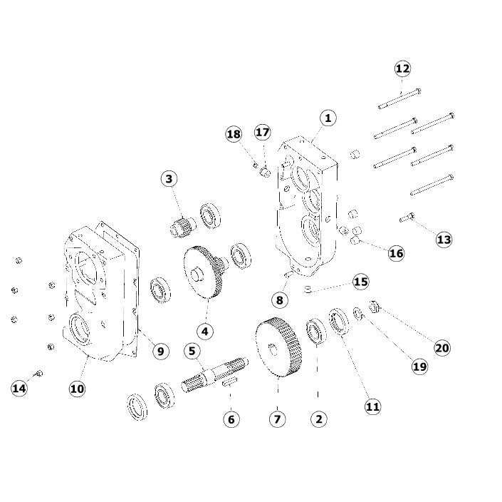 astec and case maxi sneaker c transmission 104951 repair parts seal kit