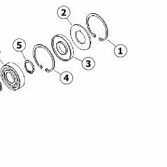 103-21281 - Reference Number 1 - Retaining Ring