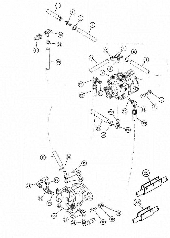 H383158 - Reference Number 29 - Hydraulic Hose