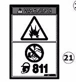 AU110578 - Reference Number 21 - Decal