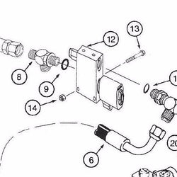 AU106887 - Reference Number 12 - 3 Way Valve Plow
