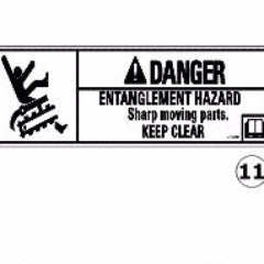 AU428652A1 - Reference Number 11 - Danger Decal