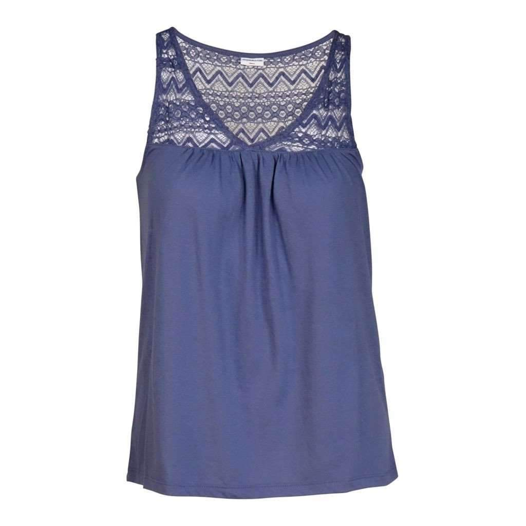 Ladies Top Sleeveless Lace