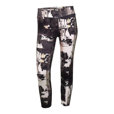 Ladies Legging Capris Active Printed