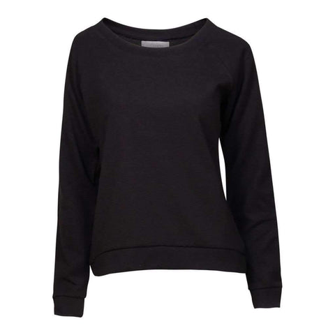 Ladies L/S Scoop Neck