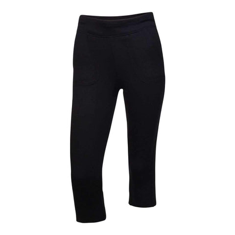 Ladies Fleece Capri Assorted Colors