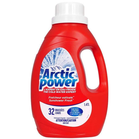 Arctic Power - Liquid Laundry Detergent, Sunshower Fresh