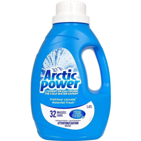 Arctic Power - Liquid Laundry Detergent, Waterfall Fresh