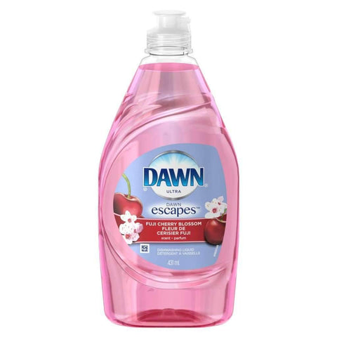Dawn - Ultra Escapes Dishwashing Liquid, Fugi Cherry Blossom