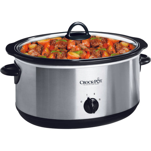 Crock Pot 4qt Oval Manual Slow Cooker