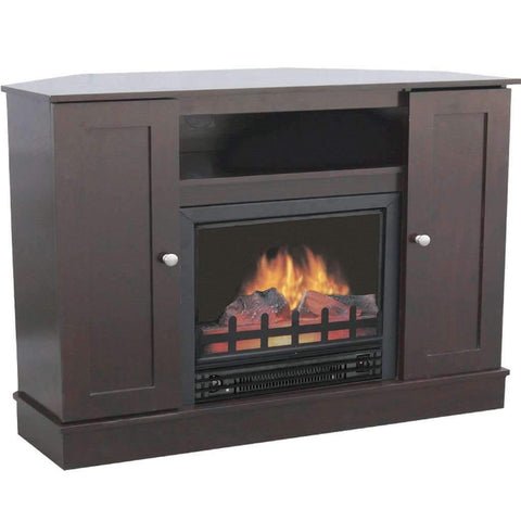 Electric Fireplace with 36