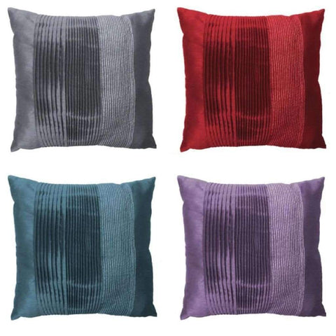 Lurex - Assorted Pleated Cushions