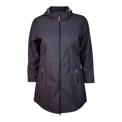 Ladies O/S Jacket Hoody Soft Shell