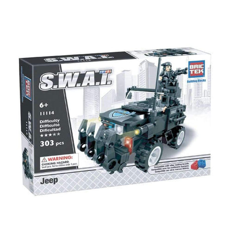 BricTek - Swat Jeep