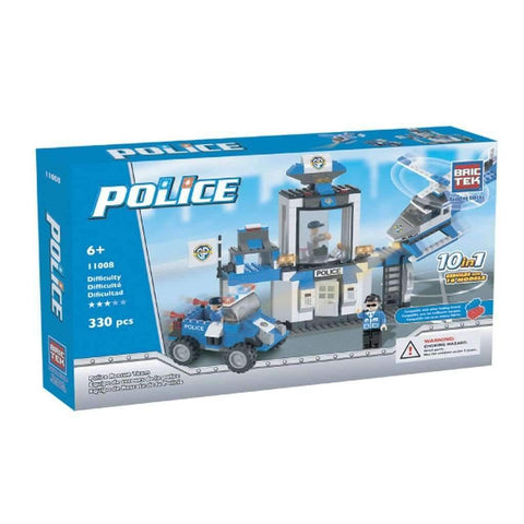 BricTek - 10 in 1 Police Rescue Team