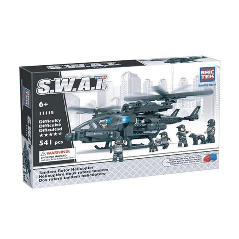 BricTek - Swat Helicopter
