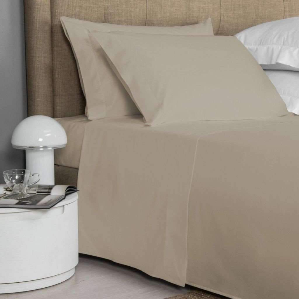 200 Thread Count Cotton Sheet Set - Taupe