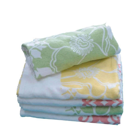 Bath Towel Printed 22x42in