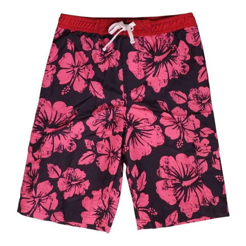 Boys 4-14 Swimshort With Elastic Waist Drawstring