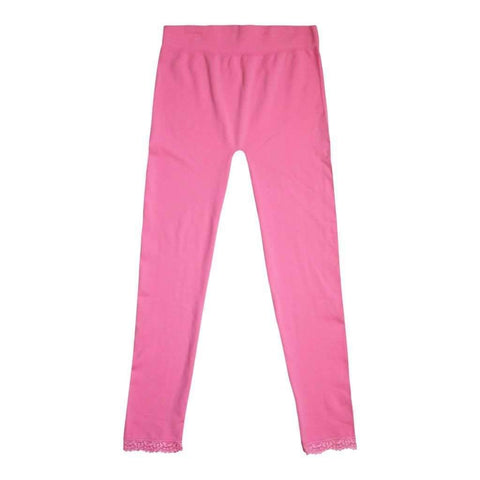 Girls 7-16 Leggings Polyspandex Couleurs Asst Black-Pink Turq