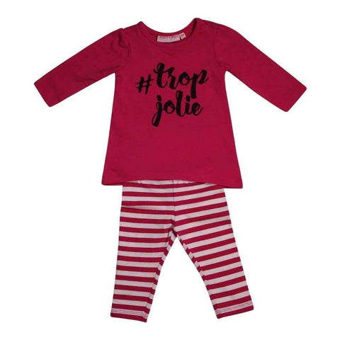 Infants Girls 6-24M 2Pc Set Top & Bottom