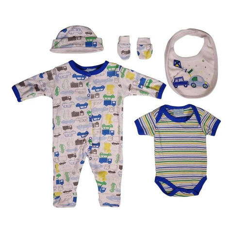 Babys 3-24M Suit 2 Pcs L/S Printed Colors