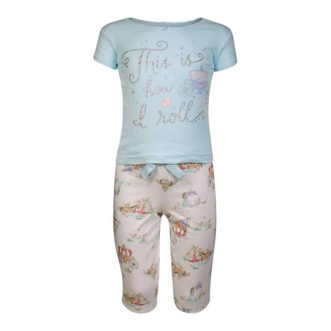 Girls 12M-24M Pjs Set Printed
