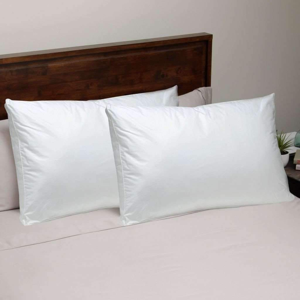 Microfiber Feather Pillow