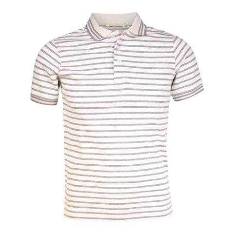 Mens Polo Shirt Short Sleeves With Contrast Tipped Collars