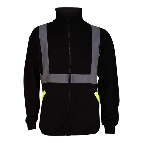 Mens Polar Fleece Jacket With Zip Front