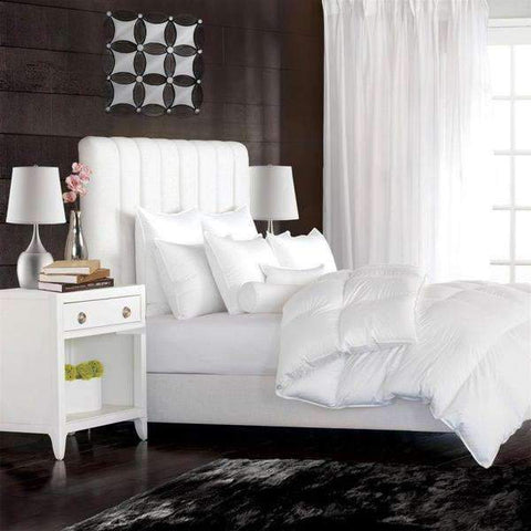 Lauren Taylor - White Goose Feather Filled Duvet, Queen