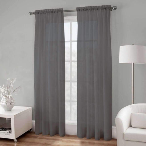 Basic Elegance Rod Pocket Voile Panel 54x96
