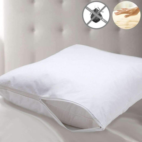 Memory Foam Pillow w/Bed Bug Protector