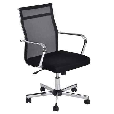 Office Chair Wakapuaka With Chrome Arm Rest