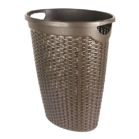 Studio 707 - Laundry Hamper with Rattan Pattern